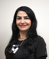 Dr. Nadia Abazarnia, DDS, our team