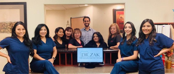 Dr. Zak Dental Team in Temecula