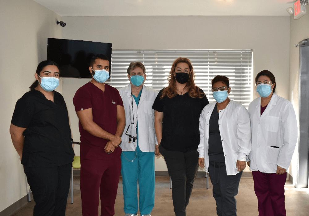 Zak Dental Team of Employees in Masks