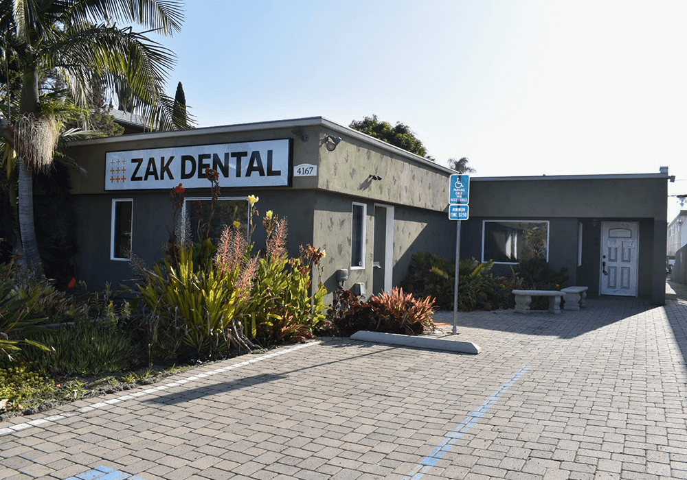 Outside View of Zak Dental North Park Building