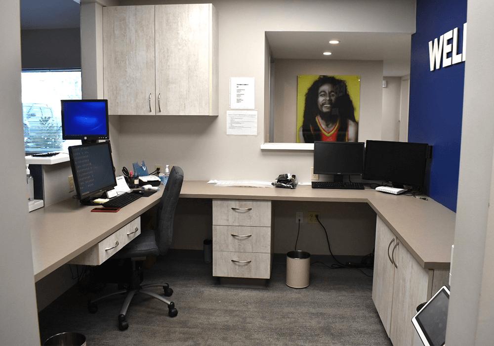 Zak Dental North Park Front Desk