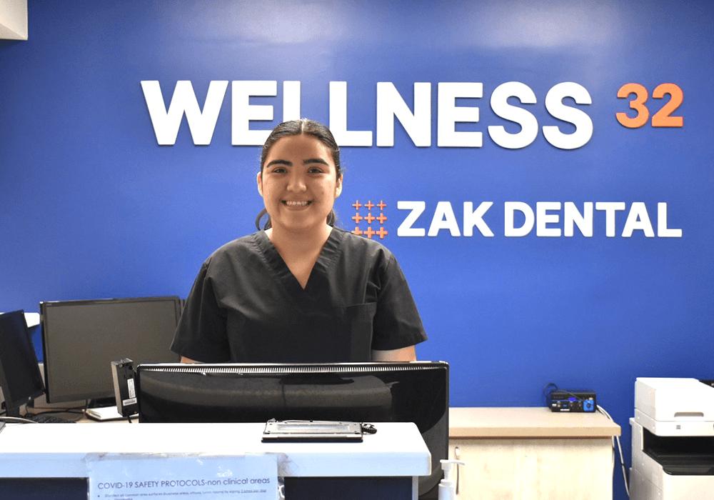 Zak Dental Employee Smiling Headshot