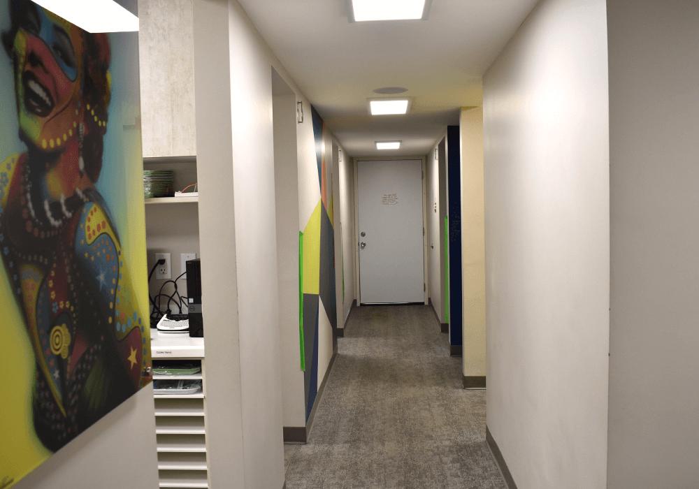 Zak Dental North Park Hallway