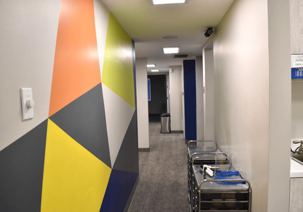Zak Dental Hallway